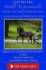 Escuela del arte ecuestre y cuadro negro del ejercito de chile