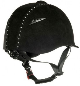 CASCO AJUSTABLE DIAMOND NEGRO HKM